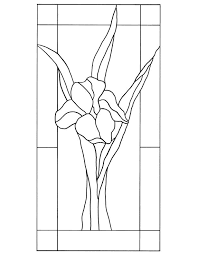 stained glass patterns for free pattern 109
