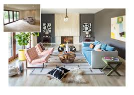 colorful living rooms. A Beige Living Room Gets Colorful Facelift Rooms I