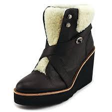 coach kenna plsh ankle boot women women s shoes boots coach leather purse coach cross signature unique