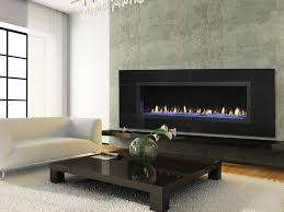 having an open gas fireplace provides an extremely open view and allows the fireplace hearth to run all the way to the burner a very clean look