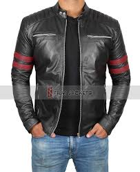 biker style men jacket mens riding jackets