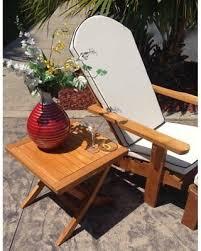 chic teak titanic outdoor folding side table am44 chic teak furniture75 chic