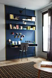 home office paint ideas. Home Office : Nice Idea To Paint The Shelves And Desk Same Color As Ideas