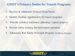 Gdot Org Chart Ppt Georgia Department Of Transportation Intermodal