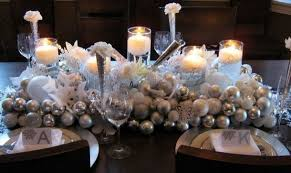 red and silver table decorations. Adorable Silver Christmas Table Decorations 36 Red And I