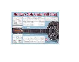 Mel Bay 20166 Slide Guitar Wall Chart By Fred Sokolow
