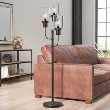 rustic floor lamps at com our best lighting regarding rustic standing lamp prepare