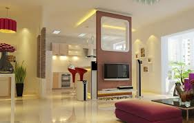 Partition For Living Room Living Room Partition Living Room With Wooden Parion Wall Nice