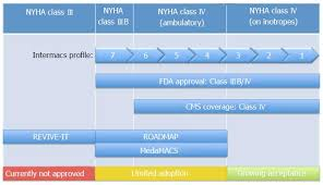 Nyha Classification Chart To Ventricular Assist Devices Or Not When Is Implantation