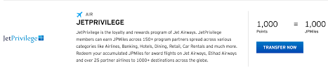 Citi Thankyou Adds Jet Airways As A Transfer Partner
