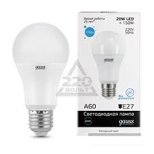 Лампа светодиодная GAUSS LED Elementary 23239 ... - 220 Вольт