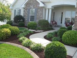 simple landscaping ideas. Cool 130 Simple, Fresh And Beautiful Front Yard Landscaping Ideas Https://wartaku Simple C