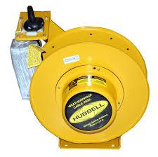 hubbell hbl501232w wproof elec reel 50 123 so cord
