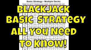 3 To 2 Blackjack Payout Chart The Blackjack Basic Strategy Card Why You Need It And How To Use It
