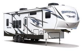 2017 kz rv sidewinder 3214dk fifth wheel toy hauler exterior