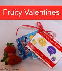 Valentine Fruit Michelle Paige Blogs Fruity Pun Valentines