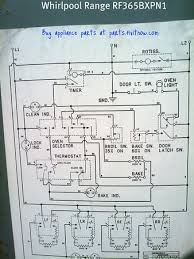 whirlpool range model rfbxpn wiring diagram com whirlpool range model rf365bxpn1 wiring diagram