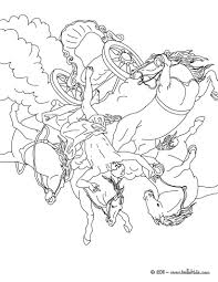 Small Picture GREEK MYTHS AND HEROES coloring pages PHAETON AND THE CHARIOT OF