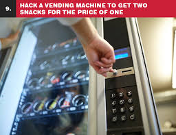 Vending Machine Hack Code New 48 Life Hacks That Can Put You Behind Bars