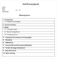 Blank Meeting Agenda Template Inspirational More From Business Forms