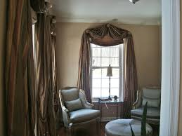 Red Swag Kitchen Curtains Valance Ideas How To Make Swag Curtains For Living Room