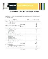 training record template staff training record template