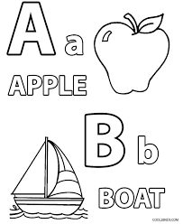 Free Printable Alphabet Coloring Sheet Free Coloring Alphabet