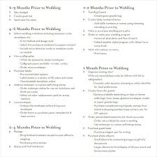 Sample Wedding Planning Checklist Template Photography In Planner ...