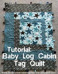 Buttercream and a Sewing Machine: Tutorial: Baby Log Cabin Tag Quilt & BabyLogCabinTagQuiltTitle.jpg Adamdwight.com