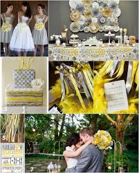 gray and yellow wedding color inspiration Wedding Decorations Yellow And Gray Wedding Decorations Yellow And Gray #23 wedding decorations yellow and gray