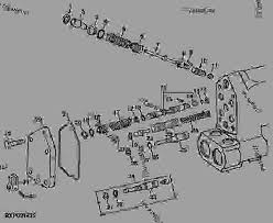selective control valves 05h24 ТРАКТОР john deere 4040 Список запчастей