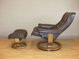 dark brown leather recliner chair. stressless royal royalin dark brown leather recliner chair c