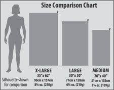 Towel Size Chart Towel Size Guide Dimensions Info Size Guide Bare Cotton