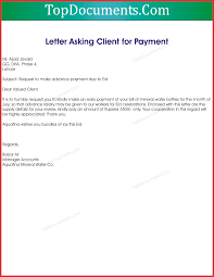 Awesome Advance Payment Letter Format To Client Personal Leave