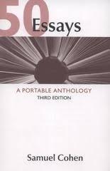 essays a portable anthology rd edition rent  a portable anthology 50 essays 3rd edition 9780312609658 0312609655
