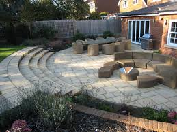 Small Picture Awesome Garden Patio Ideas Uk Patio Design And Natural Stone