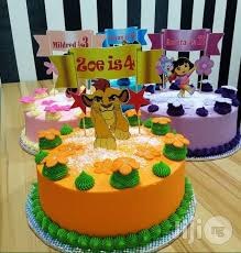 Character Cake For Kids In Agboyiketu Meals Drinks Charmed