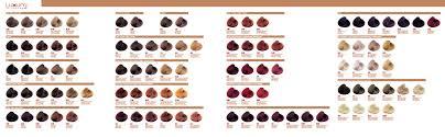 Nak Colour Chart Luxury Colour Chart