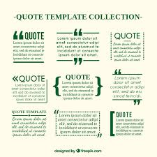 quote templates quote templates in newspaper style vector free download