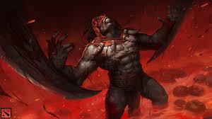 bloodseeker dota 2 game wallpaper 4121