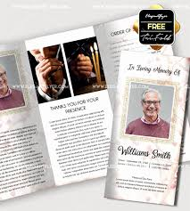Memorial Program Delectable Free Funeral Program Template Inspirational Funeral Programs