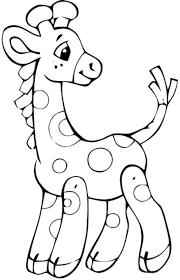 Pin Baby Giraffe Coloring Pages On Pinterest Kleurplaat Giraffe
