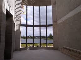 hurricane proof sliding glass doors luxury new construction site in weston florida project under construction of