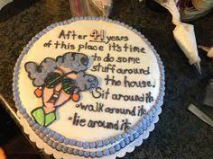 9 Best Retirement Cakes Images Pies Retirement Cakes Retirement