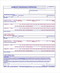 free jewelry appraisal form1