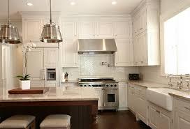 Tile Backsplash Ideas For White Cabinets Unique Inspiration White Kitchen Backsplash