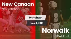 """Watch Video """"Matchup: <b>New</b> Canaan <b>High</b> vs. Norwalk <b>2018</b>"""""""
