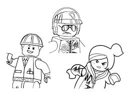 Aventure Lego 3 Personnages Coloriage La Grande Aventure Lego