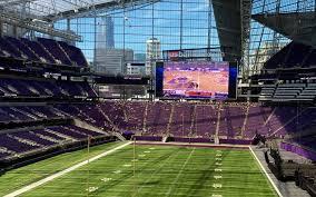 Minnesota Vikings Tickets Seating Chart Minnesota Vikings Seating Chart Map Seatgeek
