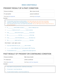 658 Free Conditionals Worksheets